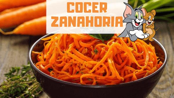 Cómo Cocer Zanahorias y Tiempo de Cocción