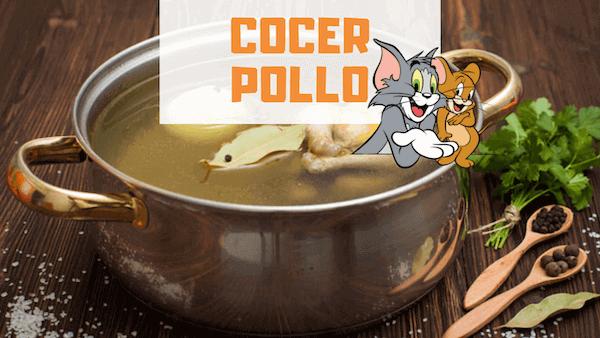 Cómo Cocer Pollo y Tiempo de Cocción