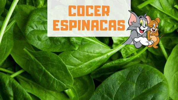 Cómo Cocer Espinacas