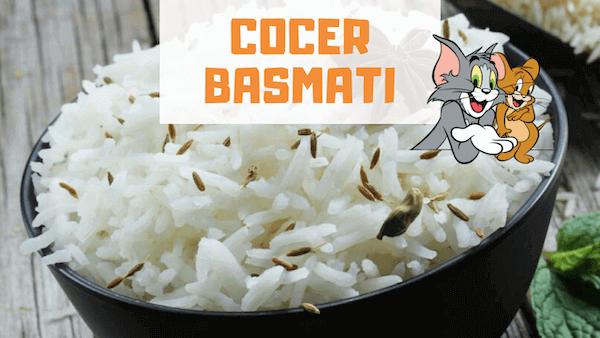 Cómo Cocer Arroz Basmati y tiempo de Cocción