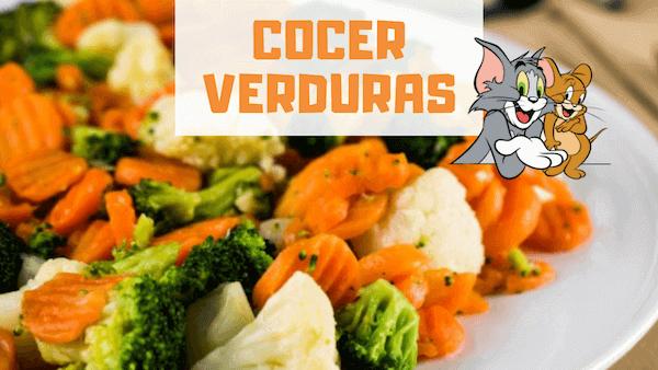 Cómo Cocer Verduras
