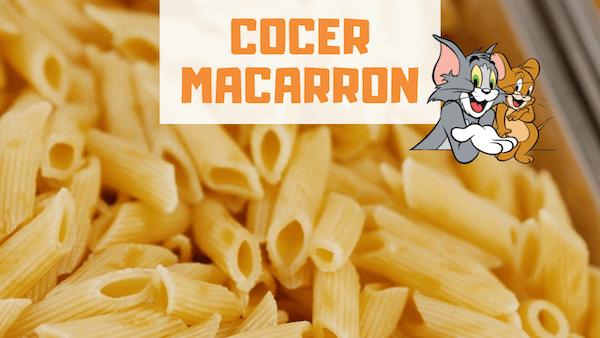 COMO COCER MACARRONES