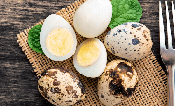 como cocer huevos de codorniz