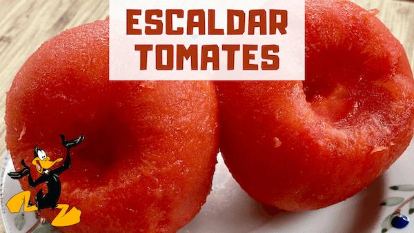 como escaldar tomates